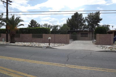 Tucson Single Family Home For Sale: 2626 S Camino Seco