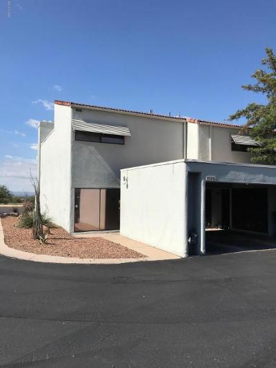 Tucson AZ Townhouse For Sale: $105,000