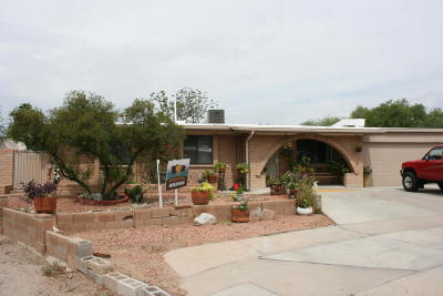 Tucson Single Family Home For Sale: 5931 N Jaynes Circle