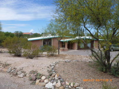 Tucson Single Family Home For Sale: 10742 E Avenida Hacienda