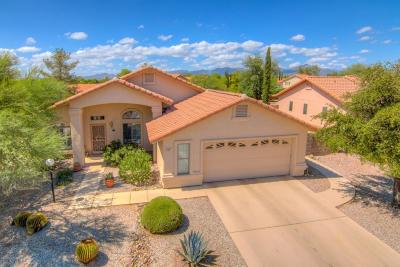 Tucson Single Family Home For Sale: 3001 W Placita Montessa