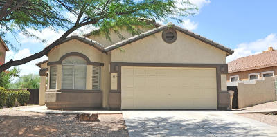Sahuarita Single Family Home Active Contingent: 126 E Via Teresita