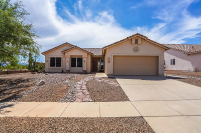 Tucson Single Family Home For Sale: 8881 N Upper Bluffs Drive