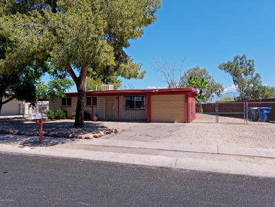Tucson Single Family Home For Sale: 7765 E Vancouver Place