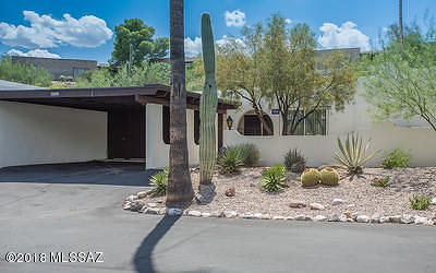 Tucson Townhouse For Sale: 4789 N Via Entrada