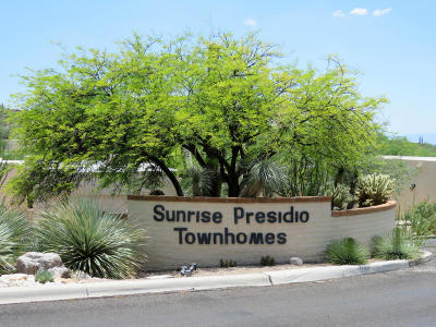 Tucson Townhouse For Sale: 5460 N Paseo Sonoyta