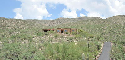 Tucson Single Family Home For Sale: 5339 N Sahuaro Canyon Lane