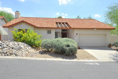 Tucson Single Family Home For Sale: 5530 N Skyset Loop