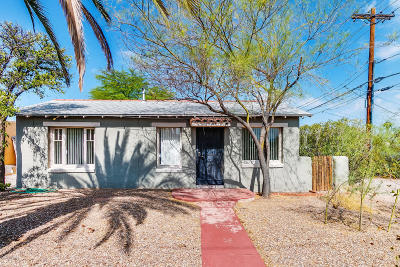 Tucson Single Family Home For Sale: 2563 N Fremont Avenue