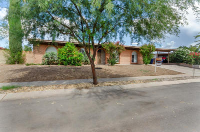 Tucson Single Family Home For Sale: 3131 S Philamena Place