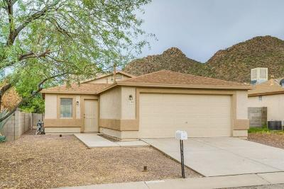 Tucson Single Family Home For Sale: 3199 W Alexanderwood Drive