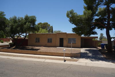 Tucson Single Family Home For Sale: 7712 E Silver Beech Drive