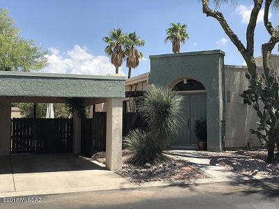 Tucson Townhouse For Sale: 3232 N Little Creek Place