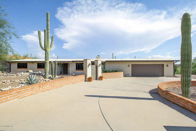 Tucson Single Family Home Active Contingent: 4440 E Quivira Place