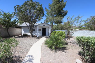 Tucson Single Family Home For Sale: 1015 E Silver Street