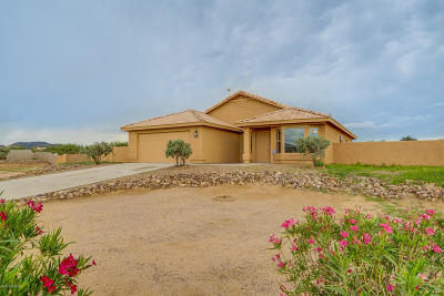 Tucson Single Family Home For Sale: 7396 W Star Rock Place