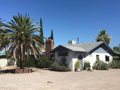 Tucson Single Family Home For Sale: 2225 E Fort Lowell Road #1