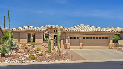 Saddlebrooke Single Family Home Active Contingent: 37490 S Desert Sun Drive