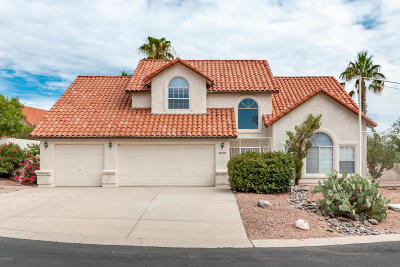 Tucson Single Family Home For Sale: 1600 W Fairway Place