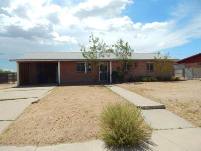 Tucson Single Family Home Active Contingent: 2203 N Flores Drive