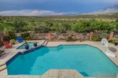 Oro Valley Single Family Home Active Contingent: 12348 N Mt Bigelow Road