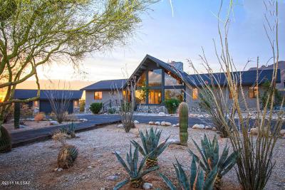 Tucson Single Family Home Active Contingent: 1725 E Chula Vista Road