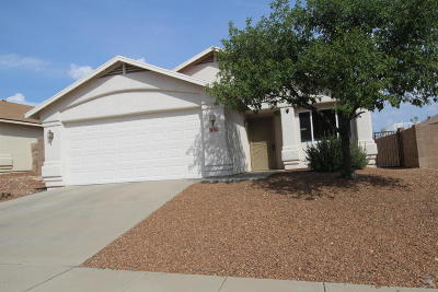 Tucson Single Family Home Active Contingent: 1213 N Thunder Ridge Drive