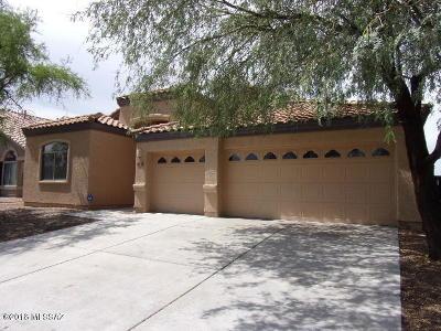 Tucson Single Family Home Active Contingent: 5164 E Park Vista Drive