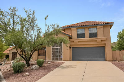 Tucson Single Family Home For Sale: 5411 N Indian Trail