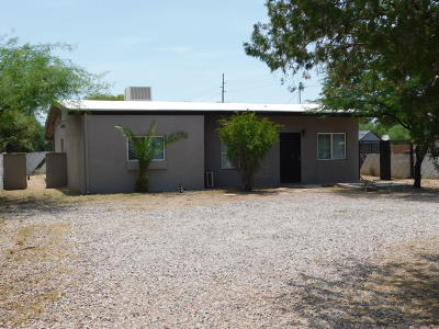 Tucson Single Family Home Active Contingent: 3508 E Bermuda Street