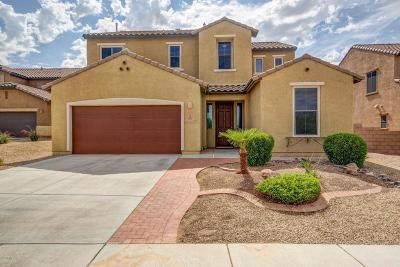 Tucson Single Family Home Active Contingent: 8290 N Morning Willow Court