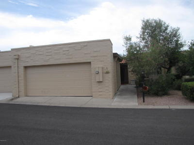Pima County Townhouse For Sale: 584 E Savannah Street