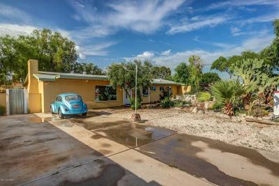 Tucson Single Family Home Active Contingent: 5971 E Sylvane Street