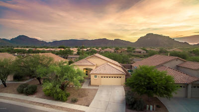 Tucson Single Family Home Active Contingent: 5592 W Crystal Rain Place
