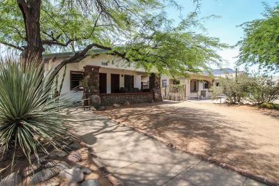 Tucson Single Family Home For Sale: 518 E University Boulevard