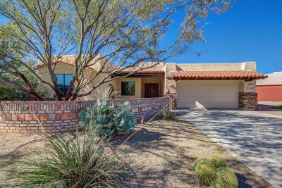 Tucson Single Family Home For Sale: 2536 W Overton Ridge Place