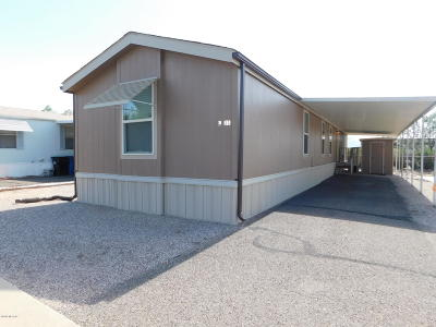 Pima County Manufactured Home For Sale: 2305 W Ruthrauff Road #L11