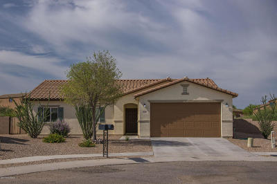 Corona de Tucson Single Family Home Active Contingent: 612 S Harry P Stagg Drive