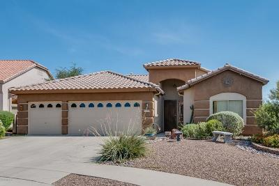 Tucson Single Family Home Active Contingent: 11252 N Chynna Rose Place