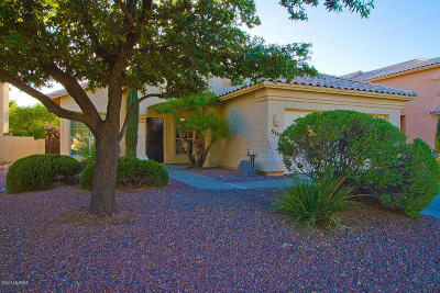 Tucson Single Family Home Active Contingent: 5145 N Whitehurst Place