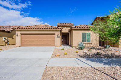 Tucson Single Family Home For Sale: 5494 S Morning Shadows Drive