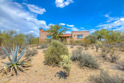 Tucson Single Family Home Active Contingent: 2949 N Sunrock Lane