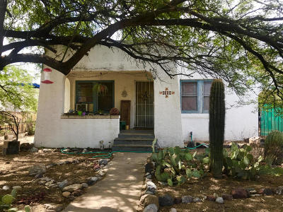 Tucson Single Family Home For Sale: 2116 E Helen Street