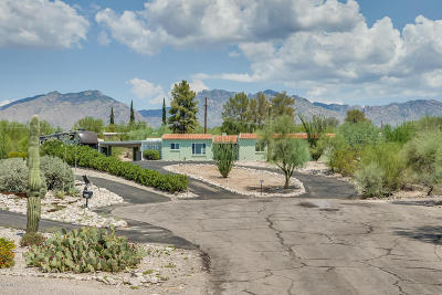 Tucson Single Family Home Active Contingent: 3441 N Tonto Place