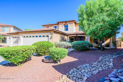 Tucson Single Family Home Active Contingent: 3715 E Capriole Place