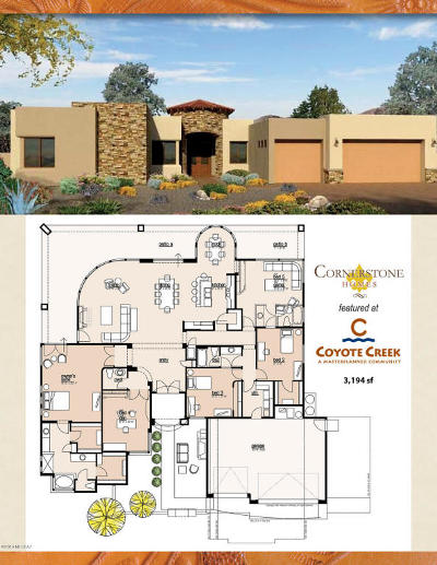 Coyote Creek (1-395) Single Family Home For Sale: 7970 S Circle C Ranch ''to Be Built'' Road