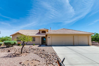 Tucson Single Family Home Active Contingent: 6795 S Star Ridge Place