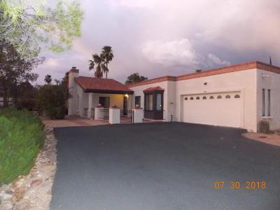 Tucson Townhouse For Sale: 846 W Palma De Coco