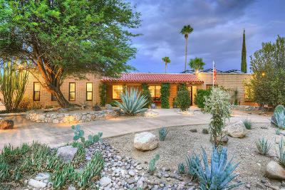 Tucson Single Family Home For Sale: 4722 N Paseo Sonoyta