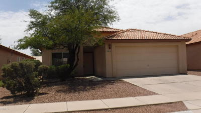 Tucson Single Family Home Active Contingent: 2215 W Silverbell Oasis Way
